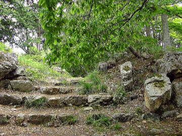 ■黒金門(くろがねもん)跡