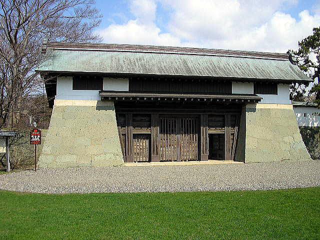 重要文化財福山城(松前城)本丸御門