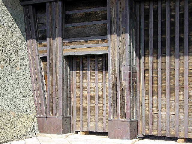 本丸御門の扉