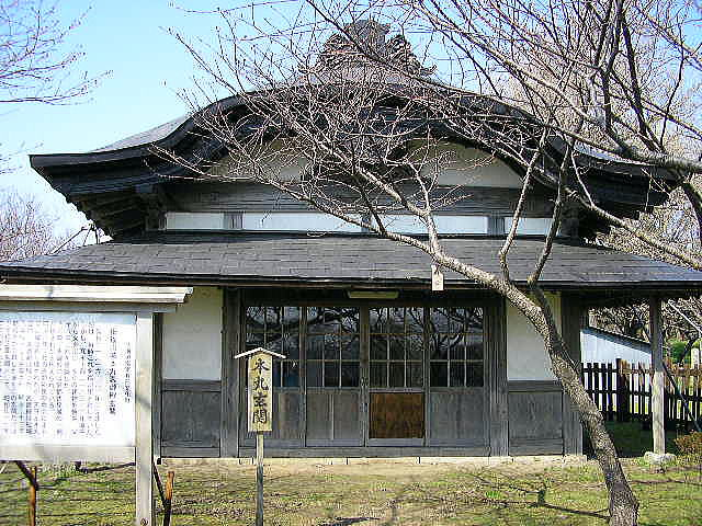 旧福山城本丸表御殿玄関<北海道指定有形文化財>