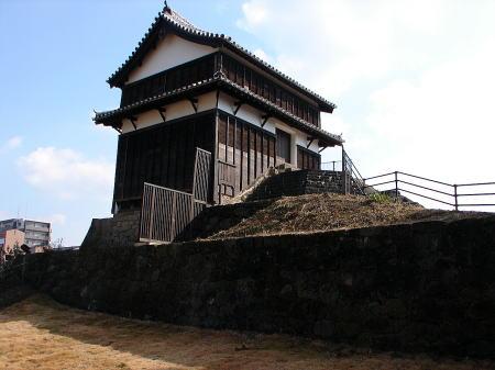 卯寅口門脇櫓(現存櫓)