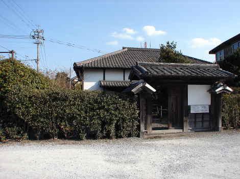 県指定有形文化財 旧平井家住宅