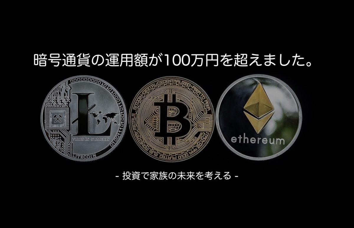 この画像はタイトル画像で暗号通貨についての記事です。