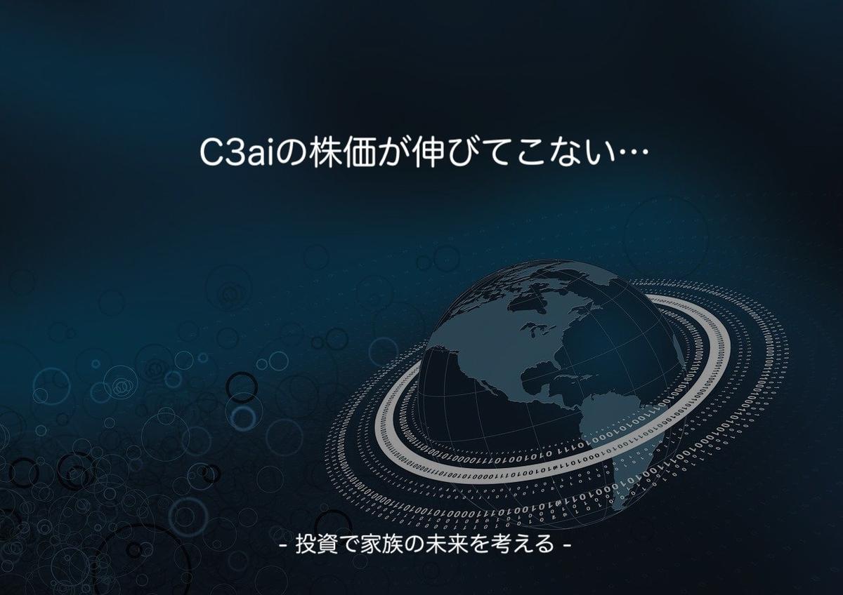 この画像はタイトル画像でC3.aiについての記事です。