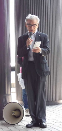 18年平和行進水巻町議会議長あいさつ