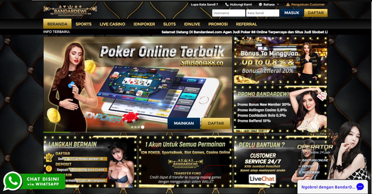 Permainan Poker Online Dengan Bonus Besar