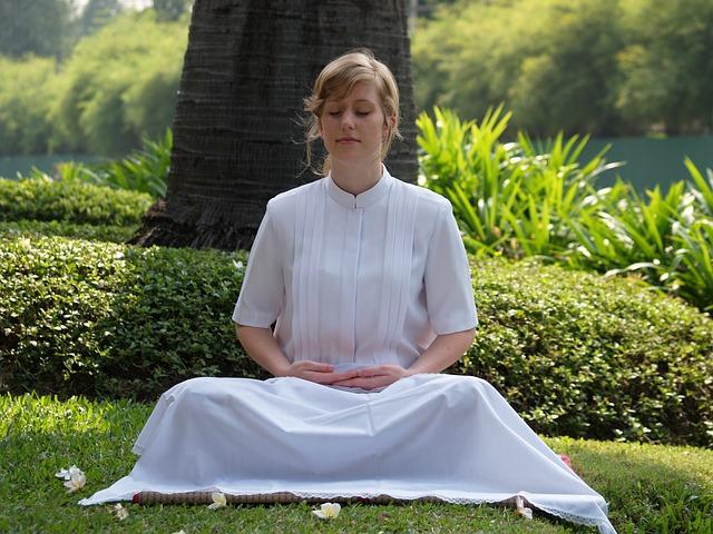深呼吸や瞑想時間を作る
