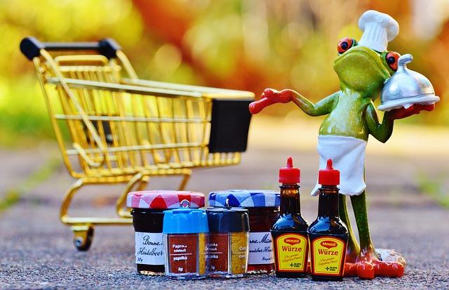 食料・日用品の買い出し