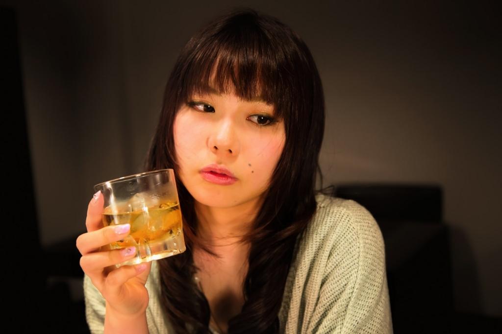 お酒を飲む回数を減らす