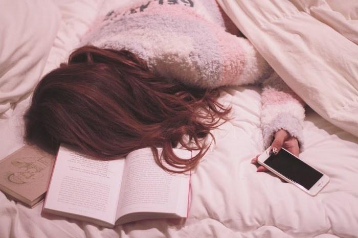 寝る前のスマホ
