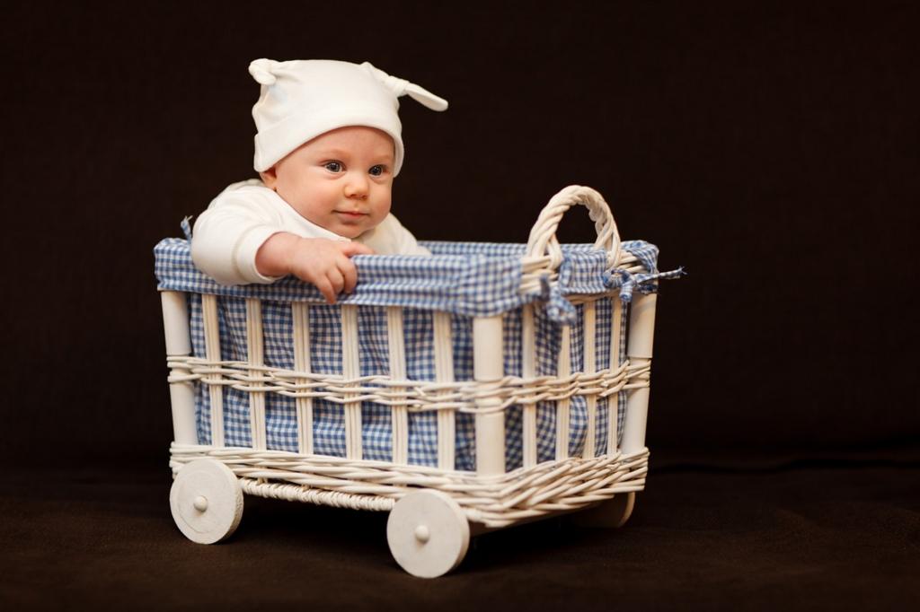 生後3ヵ月から4ヵ月の赤ちゃん