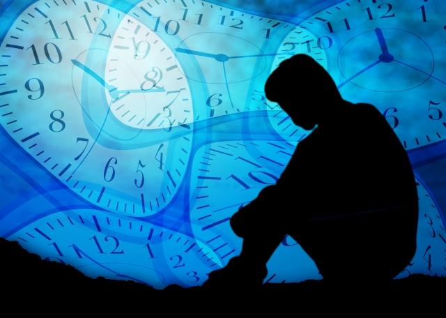 スマホ依存による時間の浪費
