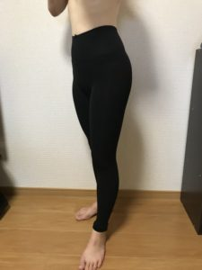 ラルフィンガードル着用2週間後の体型