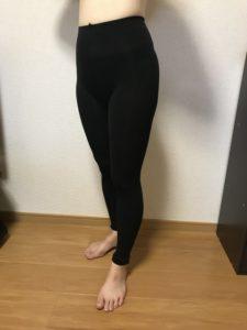 ラルフィンガードル履き始めの体型