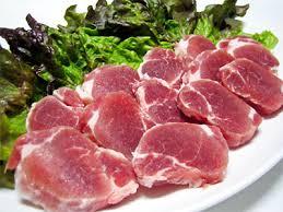 ビタミンB1をふくむ豚肉ヒレ