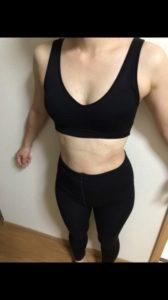 ノンファットタイム(nonfattime)を飲んで1ヶ月後-5.2kgの体型