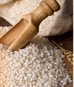 クレムドアンミルククリームクレンジングに配合されているお米の写真。