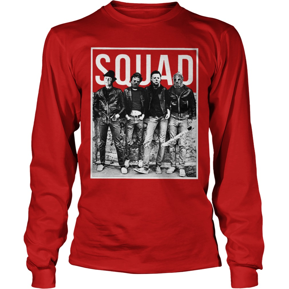 item halloween) the nightmare ends on halloween squad shirt