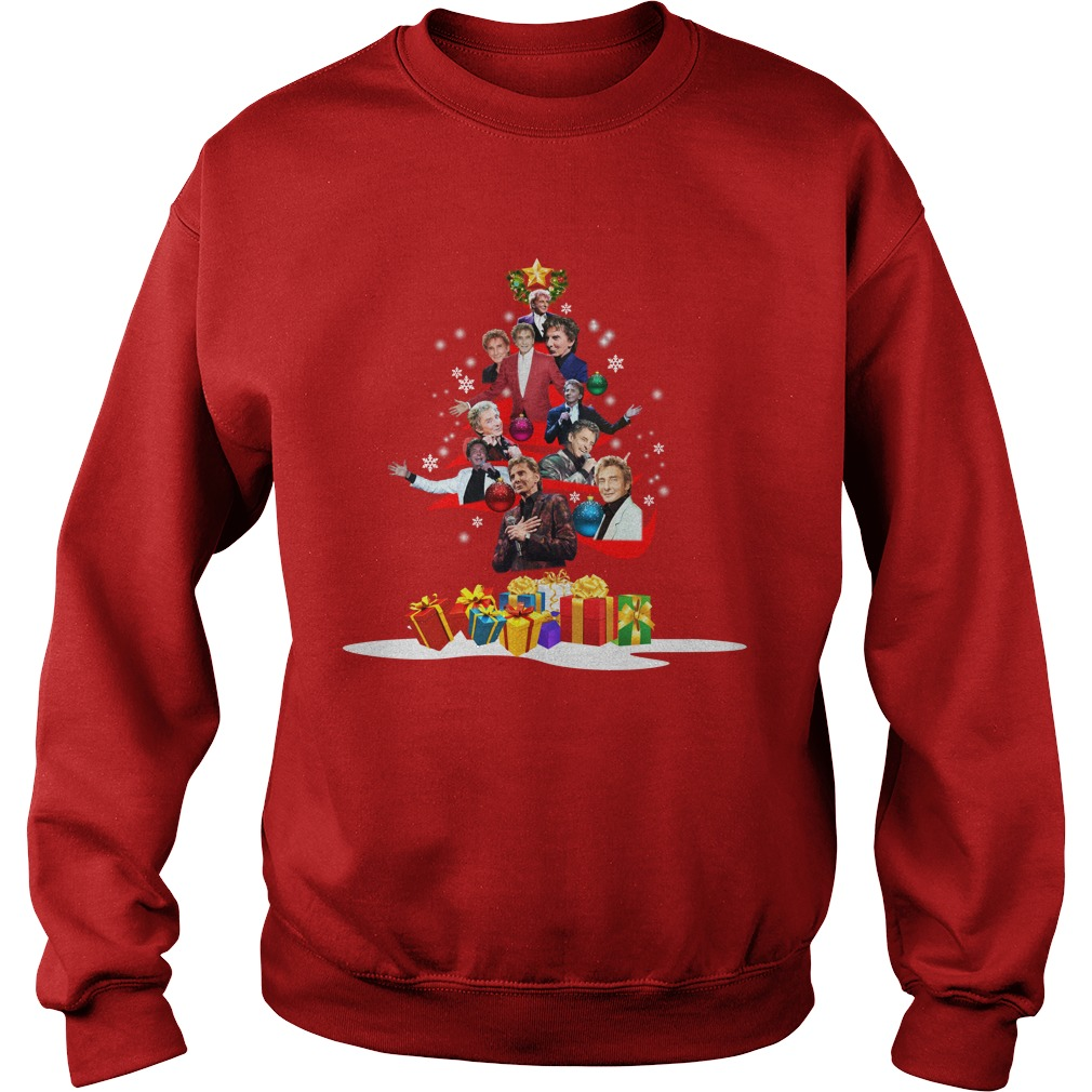 Hot) Barry Manilow Christmas Tree sweater - teepublic123321\'s diary