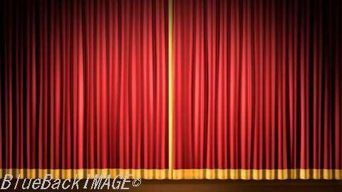 Stage Curtain 2_Fr1 ステージ カーテン