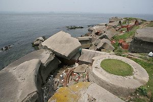 第2海堡の廃墟