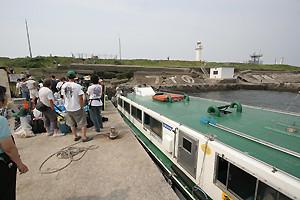 第2海堡の船着き場