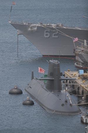 おやしお型潜水艦とフィッツジェラルド