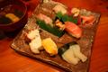 [食事]勝浦 丸竹都寿司の地魚握り