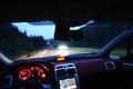 [旅行]夜明けに国道282号線龍が森への峠を走る