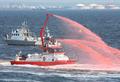 [艦船]平成20年度海上保安庁観閲式にて 市川市消防局の消防艇「ちどり」