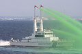 [艦船]平成20年度海上保安庁観閲式にて 消防艇「よど」PC51の放水