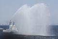 [艦船]平成20年度海上保安庁観閲式にて 消防艇「ひりゅう」FL01の放水