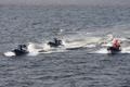[艦船]平成20年度海上保安庁観閲式にて サミット対策(テロ鎮圧)訓練