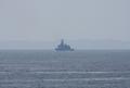 [艦船]2008年5月28日 浦賀水道での訓練支援艦くろべ