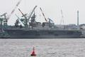 [艦船]2008年5月28日 IHI-MUで艤装作業中の護衛艦ひゅうが