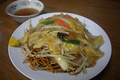 [食事]山北駅前「柳麺八」のかた焼きそば