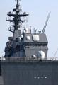 [艦船]護衛艦ひゅうがのアイランドを後部から見る