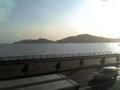 [旅行]2008年7月28日 山陽本線の車窓から瀬戸内海を見る