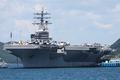 [艦船]2008年7月28日 佐世保に寄港した空母ロナルド・レーガン