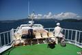 [旅行]瀬川汽船の渡し船で空母ロナルド・レーガンを撮影