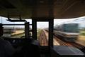 [鉄道]2008年7月27日 山陽本線223系新快速網干行き3213Mからの前面展望