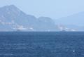 [艦船]山陽本線車窓から見た岩国沖の自衛艦