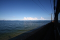 [旅行]山陽本線の車窓から見た瀬戸内海