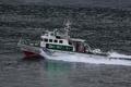 [艦船]ロナルド・レーガン入港警戒にあたる巡視艇あいかぜCL-133