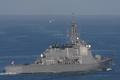 [艦船]佐世保を出港するミサイル護衛艦ちょうかいDDG176#