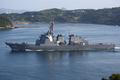 [艦船]佐世保を出港するミサイル護衛艦ちょうかいDDG176