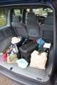 [仏車]プジョー806の後部荷物スペース