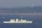 浦賀水道航路を南航するカナダ統合軍のフリゲイト・カルガリー
