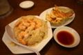 [食事]国立府中インター前 南京亭のエビチャーハンと餃子