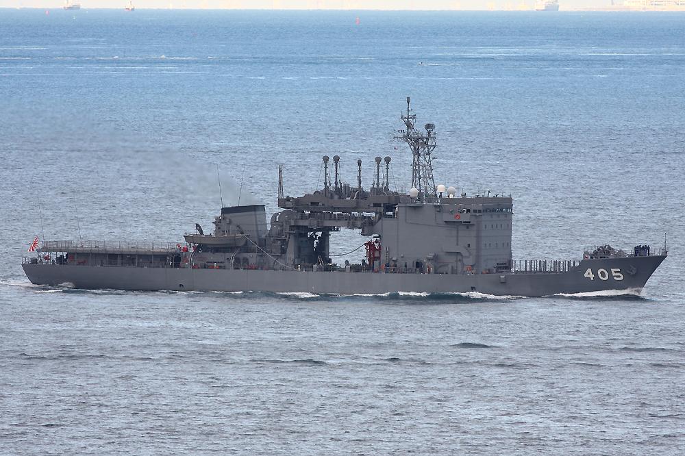 個別「[艦船]2008年11月25日 浦賀水道航路を南航する潜水艦救難艦ちよだAS405」の写真、画像 - 艦船 - Blueforce's fotolife